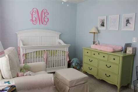 green and pink nursery blue green and pink theme nursery project nursery