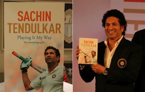 biography book of sachin tendulkar sachin tendulkar s playing it my way first glance at the