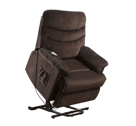 Assist Chair Recliner by 25 Furniture Of America Venturi Fabric