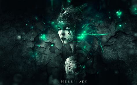 wallpaper game ps4 hd hellblade girl character face ps4 video game wallpaper