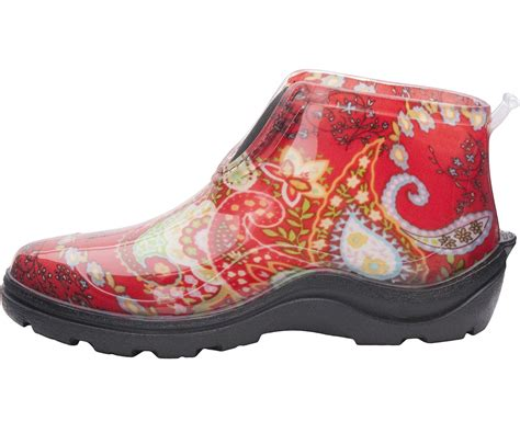 our paisley ankle boot is for running around