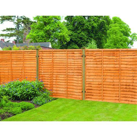 Garden Fence Panels Panel 6ft X 4ft Pk Of 5 At Wilko