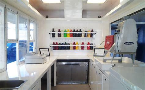Camper Trailer Kitchen Designs Snoball Trailers Snowizard Inc