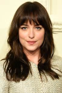 hairstyles with fringers for best celebrity fringes fringe hairstyle inspiration harper s bazaar