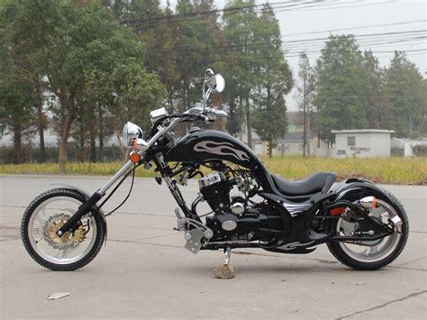 Chopper Motorrad Schwarz by Free Shippin Premium Villain 250cc Mini Chopper Motorcycle