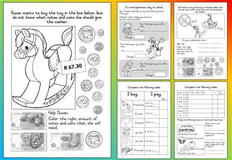 Grade 3 Worksheets Printables by Mathematics Grade 3 Money Worksheet Teacha