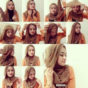 tutorial hijab anak kekinian 12 tutorial hijab menutup dada untuk kebaya terbaru dan