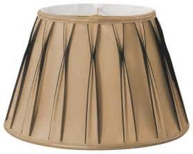 Bowtie Pleated Drum Designer Lampshade Antique Gold