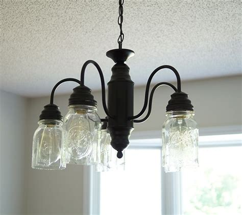 mason jar pendant light diy diy mason jar chandelier farmhouse style savedbyloves