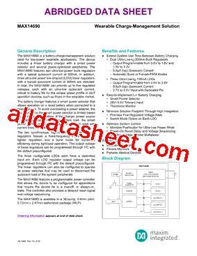 maxim integrated products leadership max14690 datasheet pdf maxim integrated products