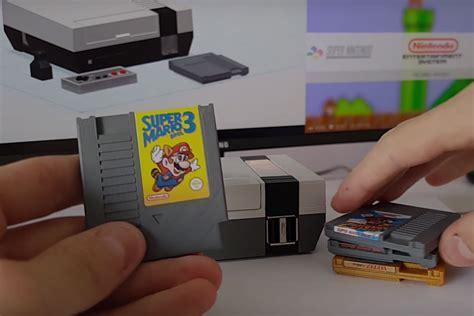 console nes mini nes classic console uncrate