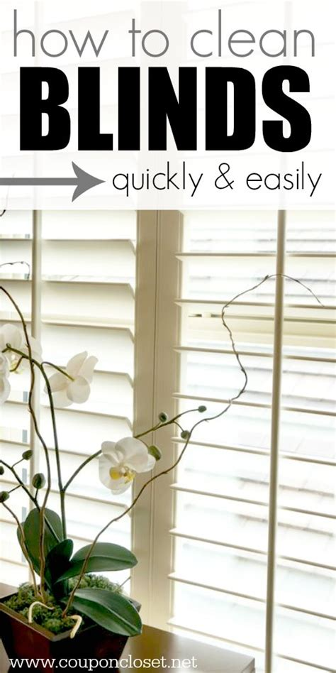 how to clean house fast and easy how to clean blinds easily 5 easy ways coupon closet