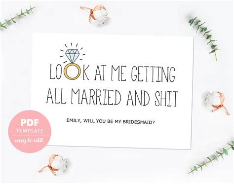 will you be my bridesmaid card template will you be my bridesmaid card template templates ideas