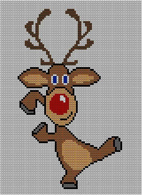knitting pattern reindeer jumper christmas rudolph reindeer jumper 17 pattern by blonde