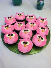 Pink Owl Baby Shower Decorations Best 25 Owl Cupcake Cake Ideas On Pinterest Owl