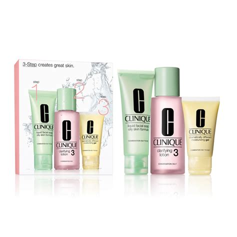 Clinique 3 Step clinique 3 step introduction kit for skin feelunique
