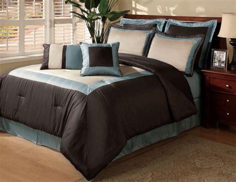 hotel comforter set bond no 9 luxury hotel blue 8 piece comforter set home