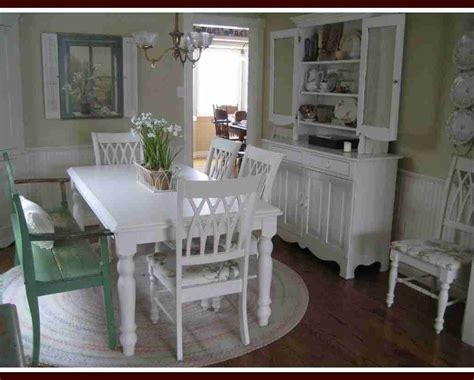 cottage dining room table bloombety cottage style decorating photos dining table