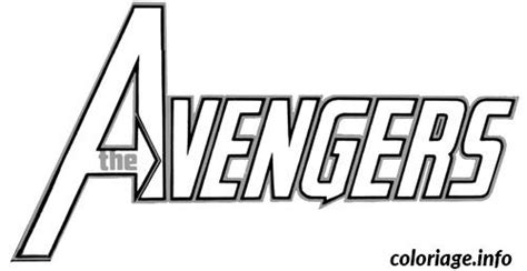avengers symbol coloring page coloriage avengers logo dessin