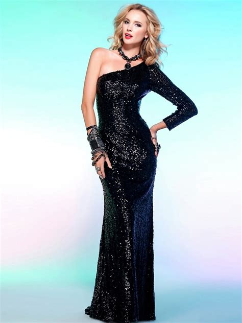 Sleeve Floor Length Dresses by Sleeve Sequin Dresses Floor Length Popular Styles