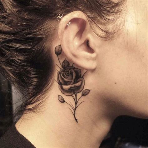 25 creative neck tattoos for women