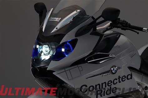 motorcycle laser light bmw laser light presented on k 1600 gtl concept motorcycle