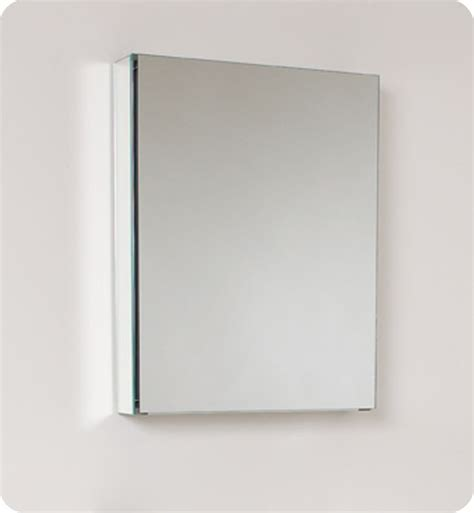fresca 20 inch wide bathroom medicine cabinet with mirrors