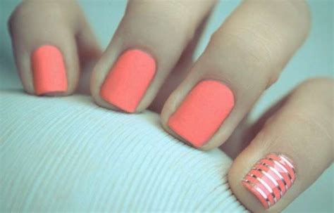 imagenes de uñas acrilicas color coral u 241 as decoradas color coral u 241 asdecoradas club
