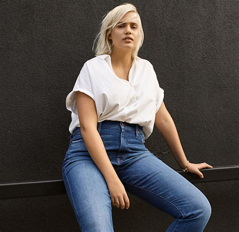 Everyones Looking For The Jean Length by Madewell And J Crew Expanded Their Denim Size Range