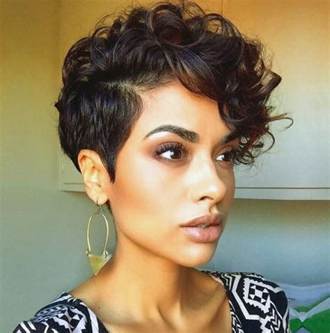 naturally curly pixie cuts for big women 30 stylish short hairstyles for girls and women curly