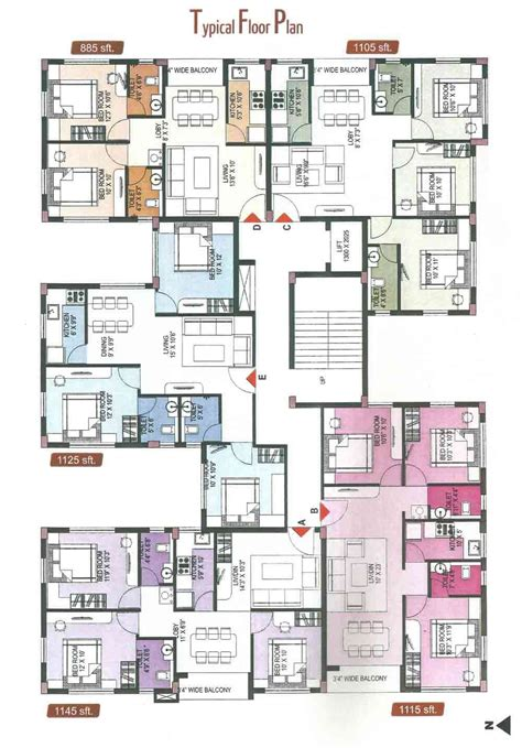 flat plans two bedroom apartment plan floor plans and for apartments 3 interalle