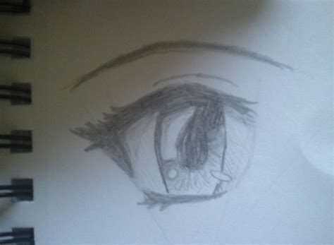 anime eyes drawing in pencil how to draw simple anime eyes 5 steps with pictures
