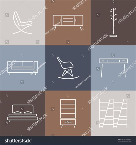design pattern catalog seamless pattern modern furnituretemplate design