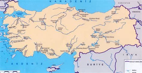 rivers map turkey rivers map