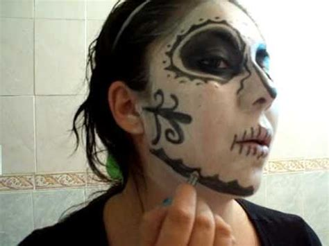 imagenes para pintar a un catrin maquillaje de fantasia de la catrina