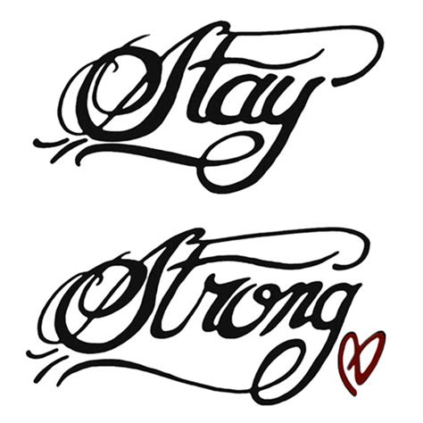 demi lovato stay strong tattoo demi lovato stay strong tattooforaweek temporary
