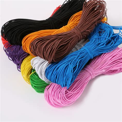 beading with stretch cord 1mm elastic cord beading thread 25meters stretch koord