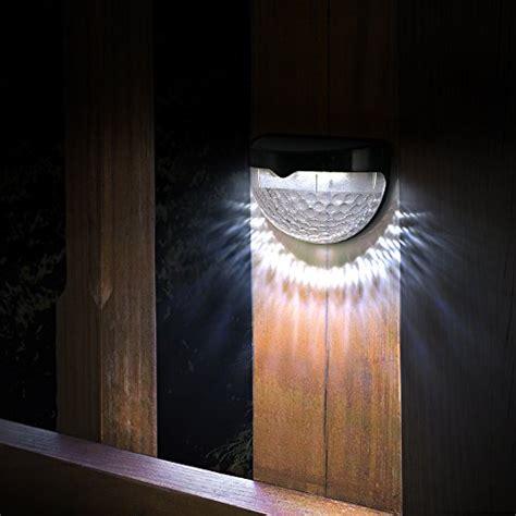 Solar Lights, TopElek 6 LED Solar Powered Security Lights