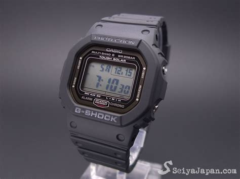 Casio Original G 056b Second casio g shock gw 5000 1jf multi band 6 made in japan