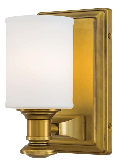 minka lavery liberty gold 1 light bathroom sconce from the