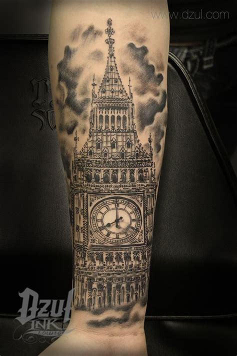 tattoo designs london ink best architecture tattoo big ben tattoo best black and