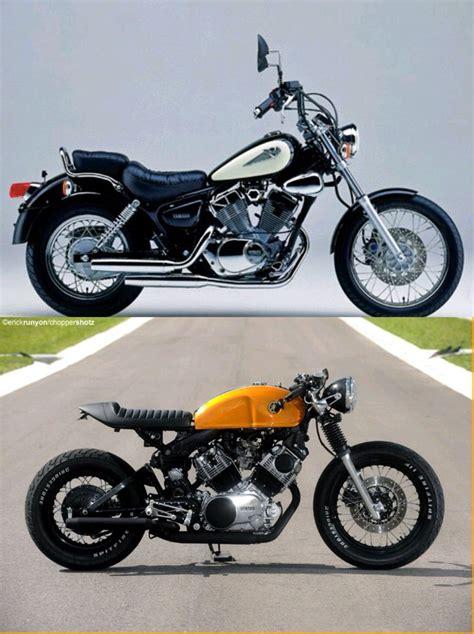 Motorrad Yamaha 125 Virago by Virago Yamaha 125 Cc Caf 233 Racer Cafe Racer Pinterest