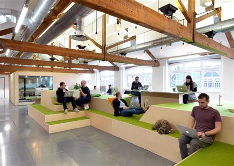 spaces design airbnb s new offices in s clerkenwell illustrate a