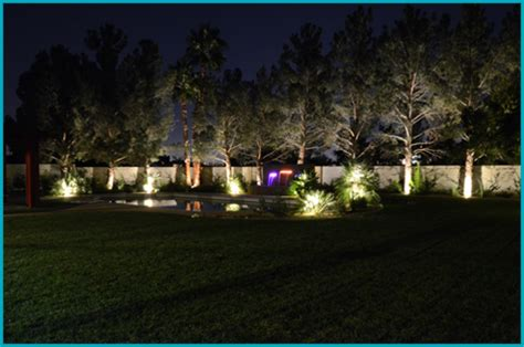 Landscape Lighting Las Vegas Low Voltage Lighting V I P Landscaping