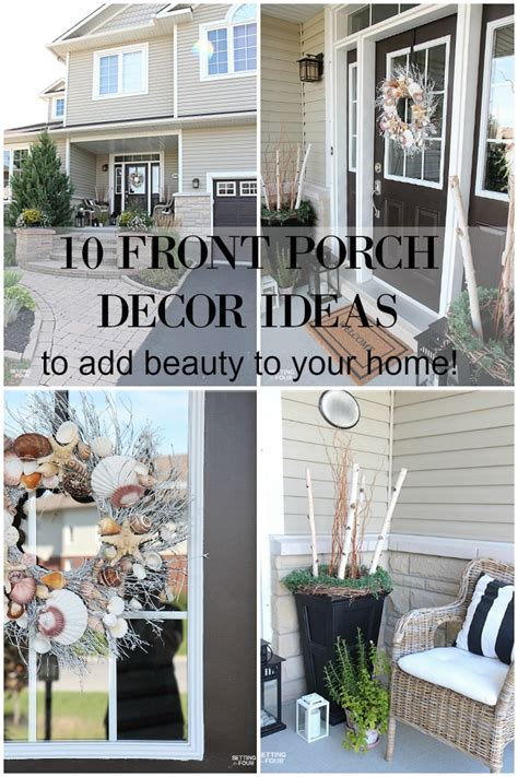 home front decor ideas 10 front porch decor ideas to add beauty to your home