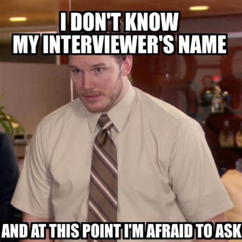 Interview Meme - 7 job search memes that are just too real careerbuilder