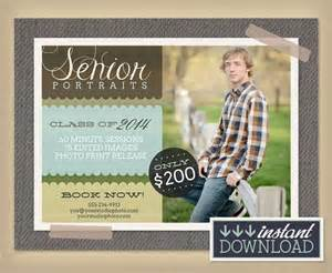 photography advertisement template senior portraits mini session photography by