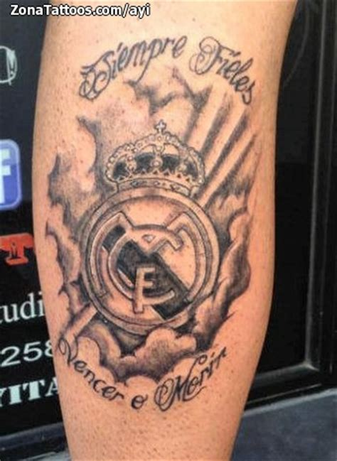 tattoo cover up reality show tattoo of badges soccer football real madrid