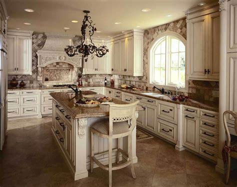 4 elements could bring out traditional kitchen designs