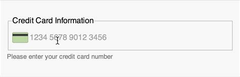 html input pattern phone number single field credit card input pattern brad frost